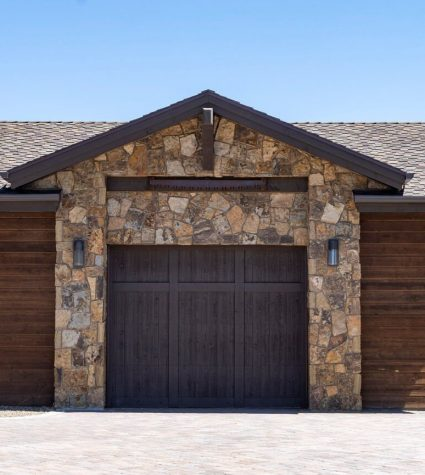Garage with CertainTeed Presidential Shake Residential Roofing Shingles Roofed by Heritage Roofing in Prescott, AZ