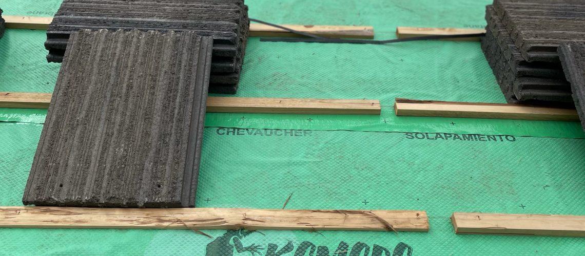 new home flat tile roofing construction prescott az